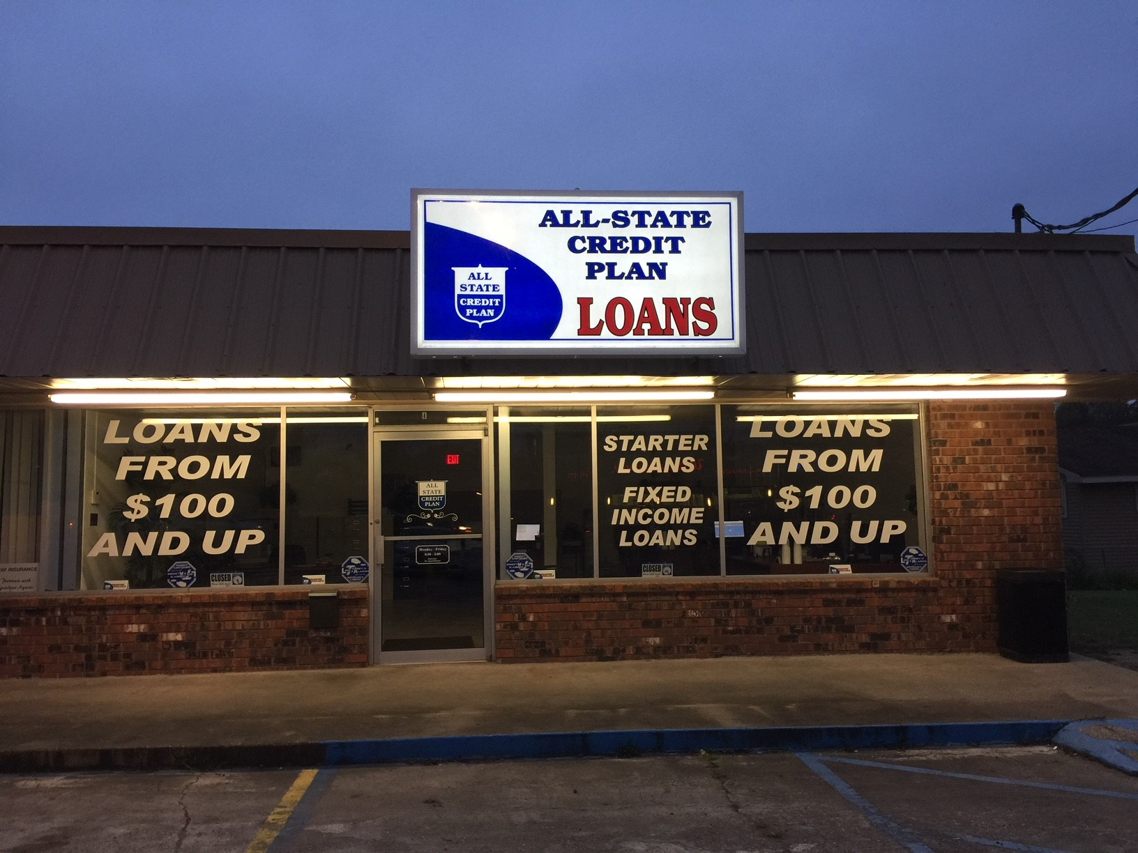 All-State Credit Plan, LLC in Bayou Vista